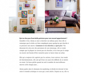 article Bumper | Murs Blancs