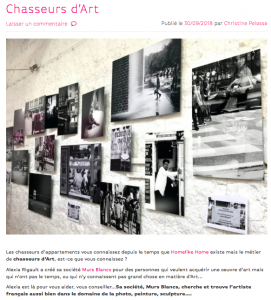 Article Homelikehome | Murs Blancs office