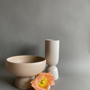 Coupe et vase de Dorothée Séjournet