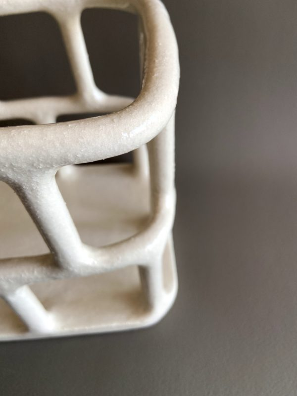 Corbeille blanche de Solenne Belloir