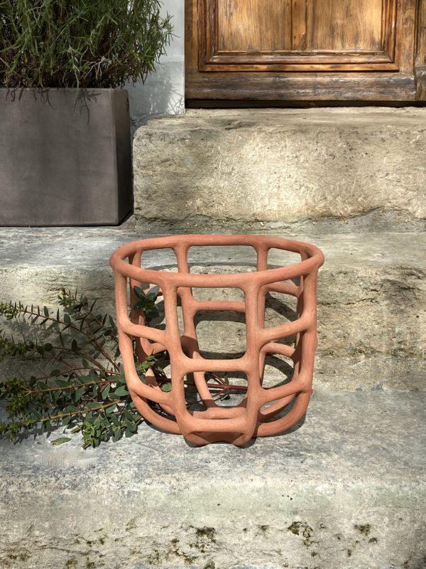 Corbeille terracotta de Solenne Belloir